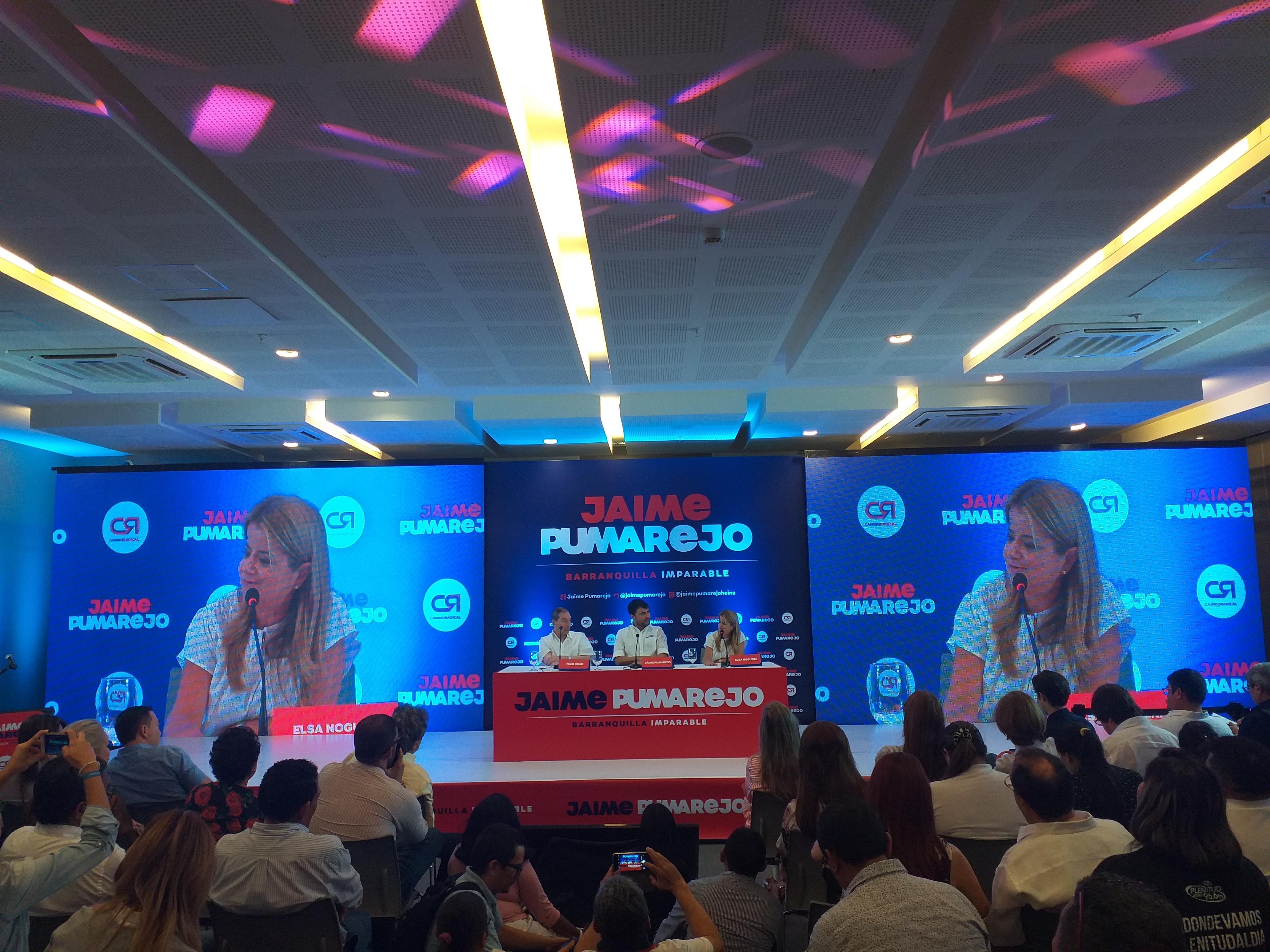 Con aval de Cambio Radical, Jaime Pumarejo ratifica a Barranquilla Imparable!