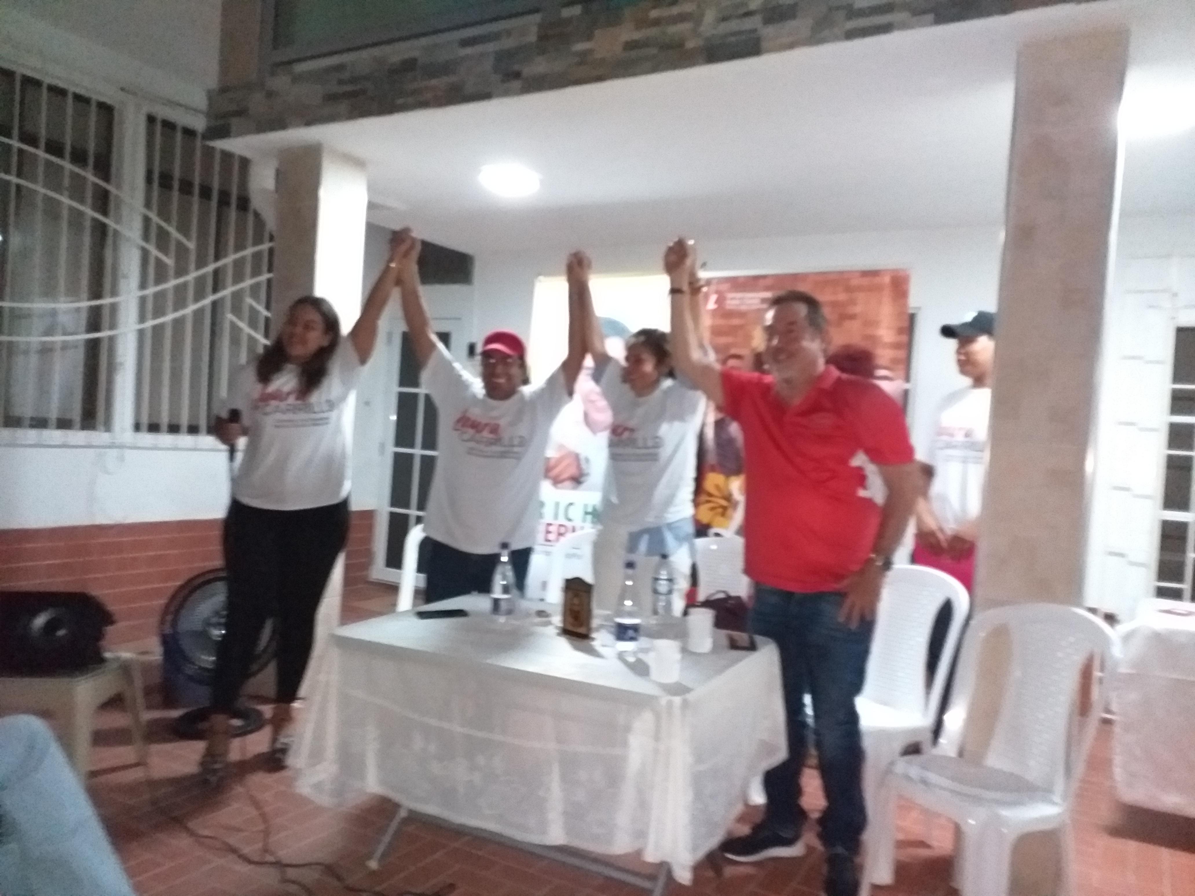 Laura Carrillo, aspirante a Edil por la Localidad Norte Centro Histórico, recibió apoyo de la Diputada Liberal Lourdes López