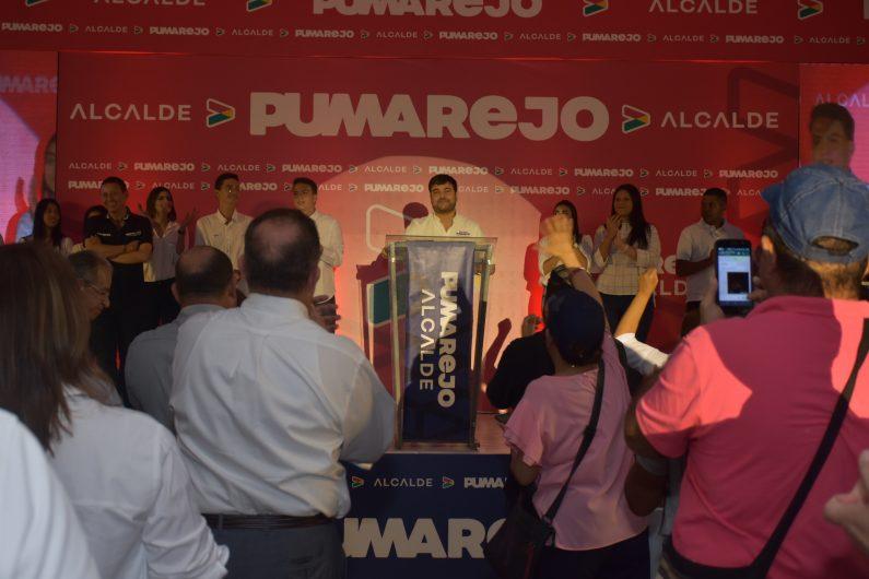 """""""Bienvenidos todos a esta Barranquilla Imparable"""": Jaime Pumarejo."""