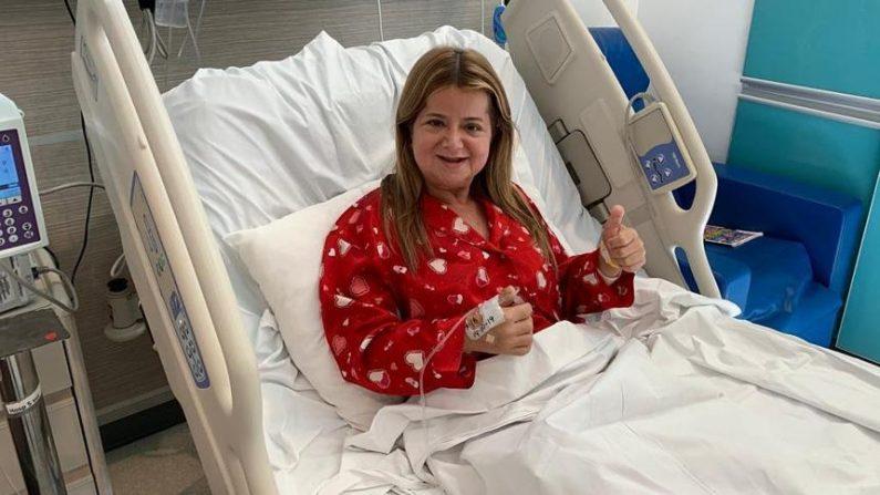 Los veo pronto: Elsa Noguera tras exitosa cirugía
