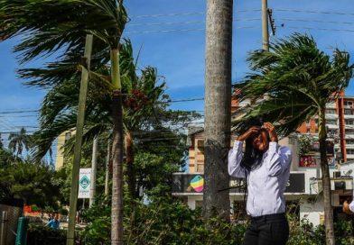 Alerta por fuertes vientos en el Caribe
