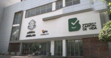 Fachada del Tránsito en Barranquilla