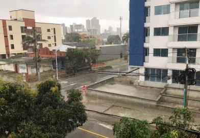 Foto de lluvia en Barranquilla Tomada de El Heraldo