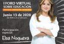 """Primer foro virtual sobre Educación en el Atlántico: """"Educatech"""""""