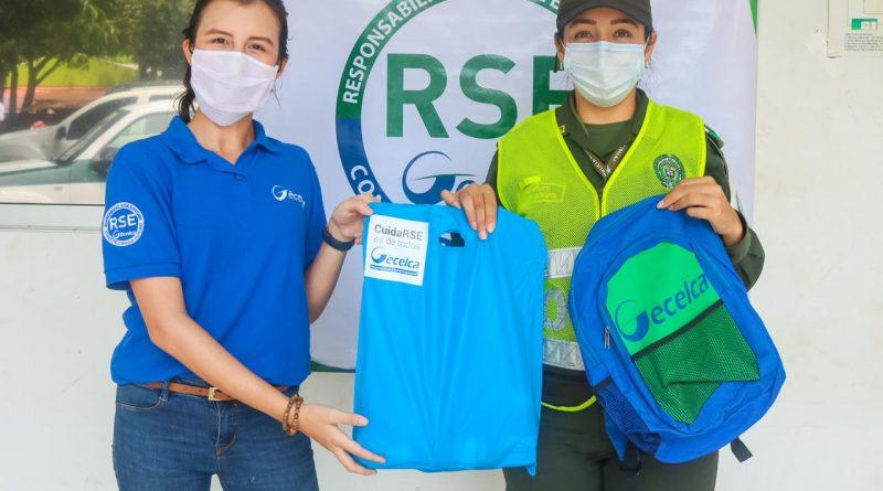 Gecelca entrega kits de bioseguridad en córdoba y la guajira