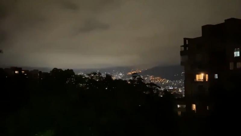 Ensordecedor ruido del cielo que causó terror en Medellín