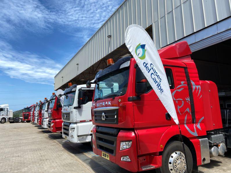 Nueva flota de camiones a GNV en Colombia