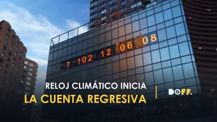Reloj de Nueva York impacta al marcar cuenta regresiva del mundo