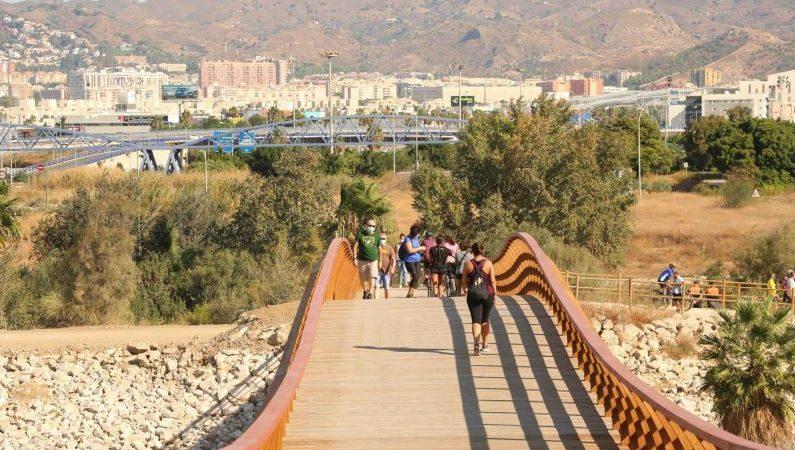 En Málaga la mayor pasarela peatonal europea